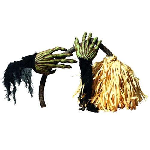 Europalms Horror seprű , halloween, a seprű hossza 60 cm