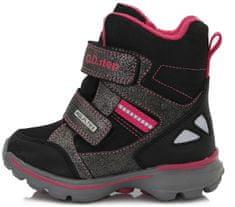 D-D-step gyermek téli cipő, 34, fekete