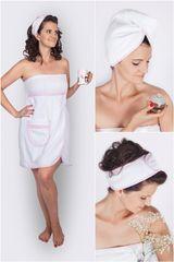 MaryBerry Něžný růžový dámský dárkový wellness set Velikost: S-M-L