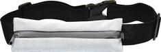 Torbica za trčanje s reflektivnom trakom, siva
