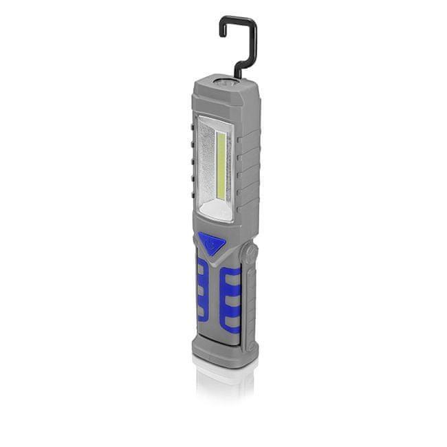 Erba AKU pracovní LED svítilna 1+3W / 50+200lm