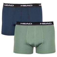 Head 2PACK pánske boxerky viacfarebné (871001001 226) - veľkosť L