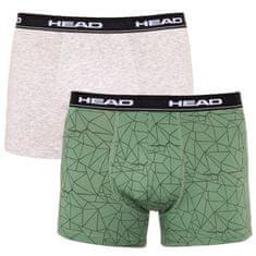 Head 2PACK pánske boxerky viacfarebné (891004001 404) - veľkosť L