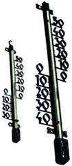 Portoss TMS 157 plastični stenski termometer