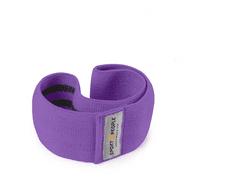 Sport2People tekstilna elastika za vadbo, L, barva grozdja