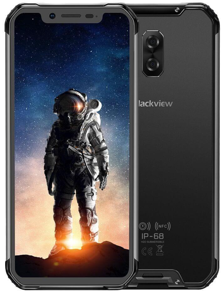 iGET Blackview GBV9600 Pro 2019, 6GB/128GB, Black
