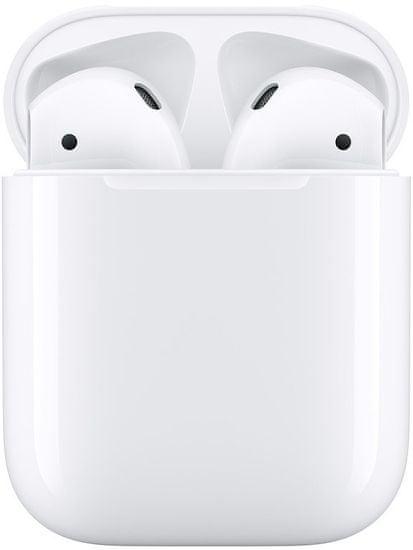 Apple AirPods s nabíjecím pouzdrem MV7N2ZM/A bezdrátová sluchátka (2019)