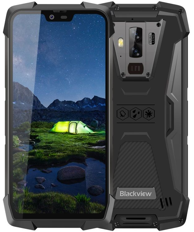 iGET Blackview GBV9700 Pro, 6GB/128GB, Black