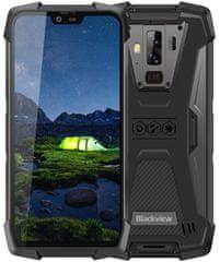Blackview BV9700 Pro pametni telefon, 6 GB/128 GB, črn