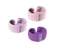 Sport2People set tekstilnih elastik za vadbo, vijolični