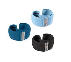 Sport2People set tekstilnih elastik za vadbo, modri