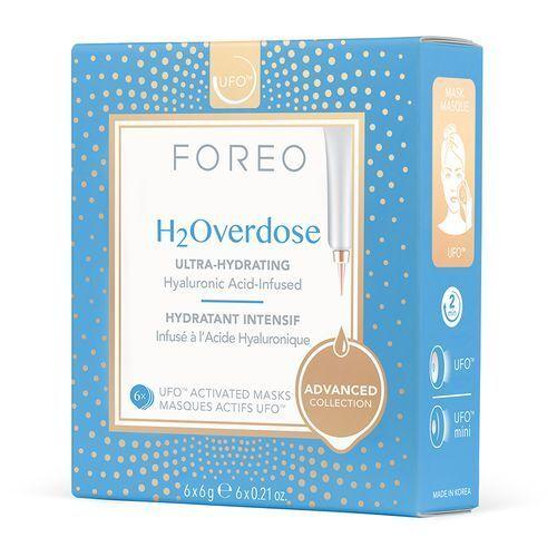 FOREO Intenzíven hidratáló és tápláló arcmaszk UFO H2Overdose (Activated Mask) 6 x 6 g