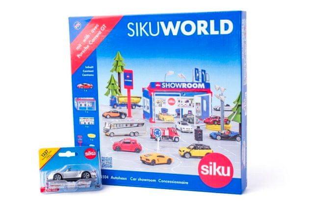 SIKU SIKU World 5504 - Showroom + dáreček