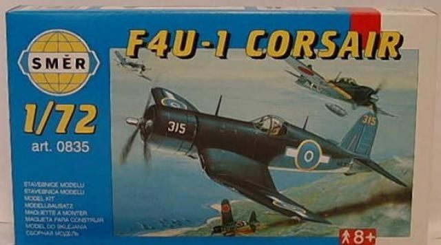 Směr Model Chance Vought F4U-1 Corsair 1:72