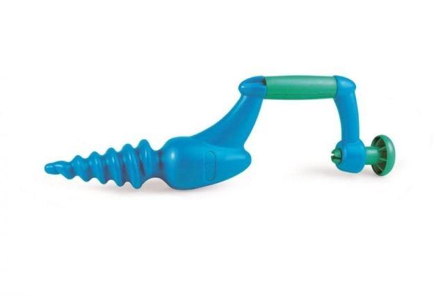 Hape Hračky na písek - Vrták modrý