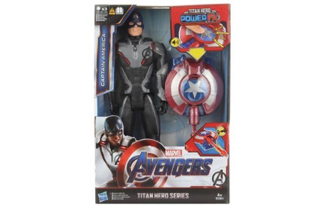 Lamps Avengers Titan Hero Power FX Kapitán Amerika 30cm figurka