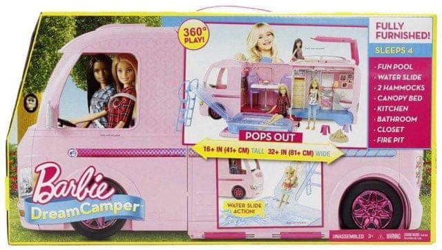 Mattel DREAM CAMPER KARAVAN SNŮ