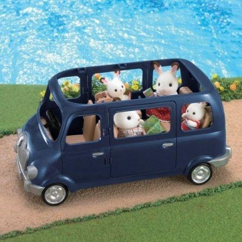 Sylvanian Families Sylvanian Families - Rodinné auto modré