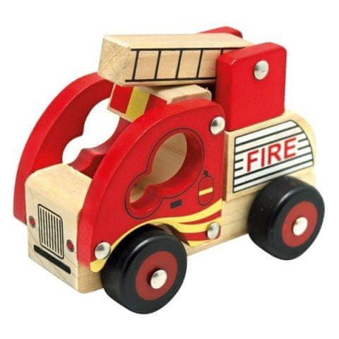Mertens Dřevěné auto hasiči
