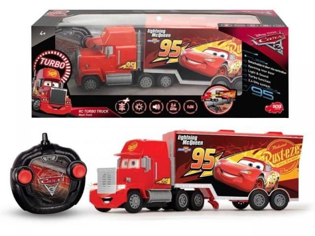 Dickie RC Cars 3 Turbo Mack Truck 46 cm, 3kan