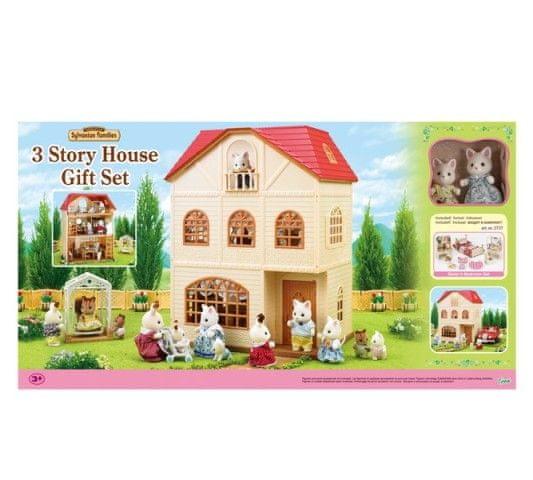 Sylvanian Families Sylvanian Families Dárkový set - Třípatrový dům s příslušenstvím A