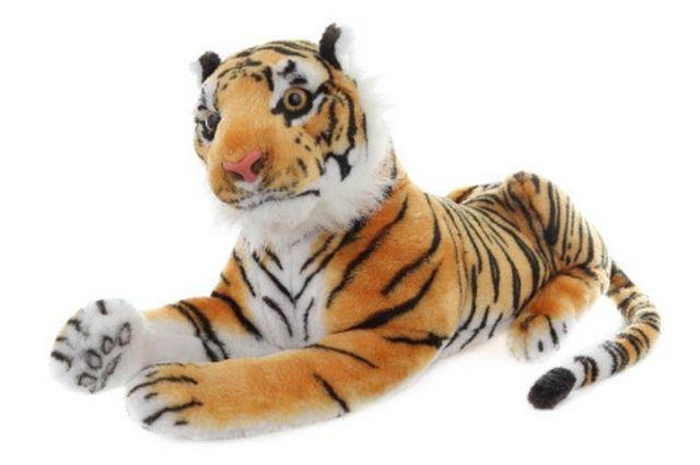 Lamps Plyš Tygr hnědý 55 cm