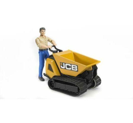 Bruder BWORLD 62004 Pásový přepravník JCB s figurkou