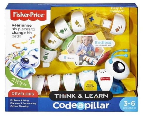 Fisher-Price Fisher Price Housenka CODE-A-PILLAR