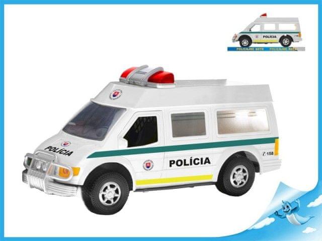 Mikro Trading Auto slovenská policie 27cm na setrvačník