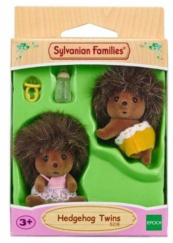 Sylvanian Families Sylvanian Families - Rodina dvojčata ježci