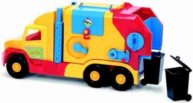 Wader WADER -Super Truck popelář krátký