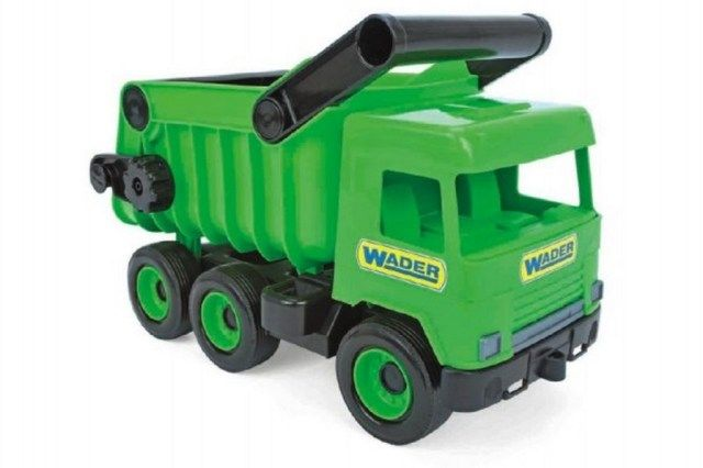 Wader Auto middle Truck sklápěč 36cm zelený Wader
