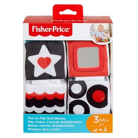 Fisher-Price Fisher Price NAUČNÉ MĚKKÉ KOSTKY