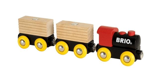 Brio Vláček se 2 vagonky