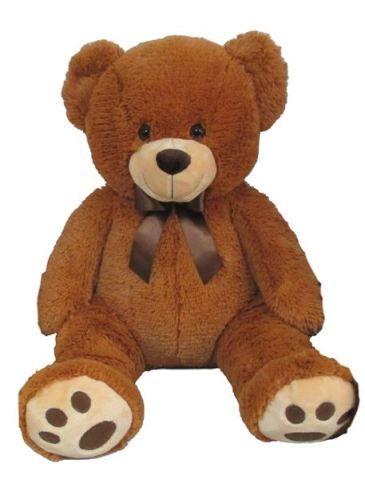 Mac Toys Plyšový medvídek 60 cm, světle hnědý