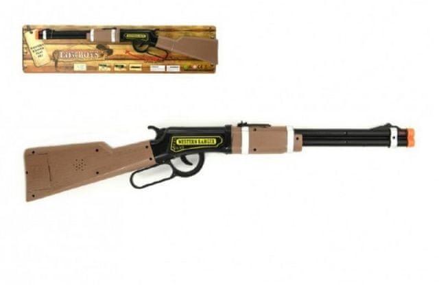 Teddies Pistole opakovací kovbojská plast 62 cm