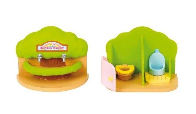 Sylvanian Families Sylvanian Families - Přenosná toaleta a umývárka pro školky