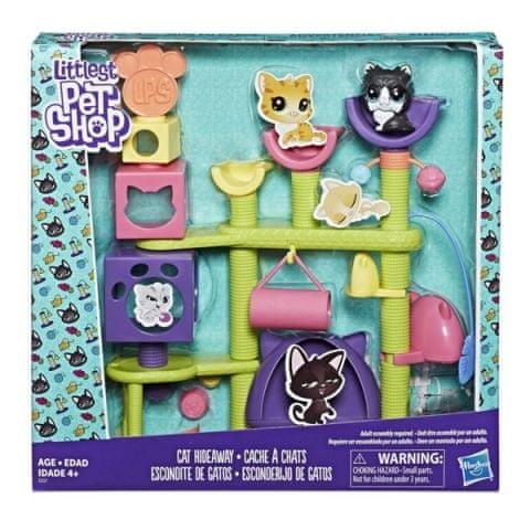 Hasbro LPS Set kočičí domeček
