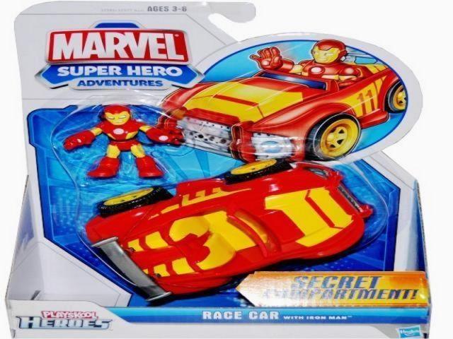 Hasbro SUPER HEROES INTERAKTIVNÍ HRACÍ SADA S VOZIDLEM A FIGURKOU