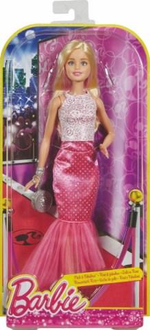 Mattel večerní šaty