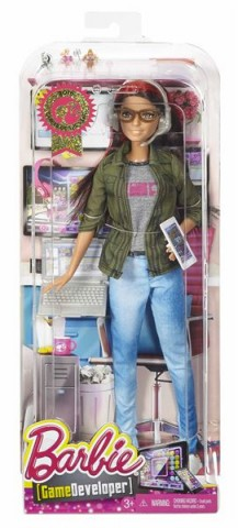 Barbie COTY - HERNÍ VÝVOJÁŘKA Barbie