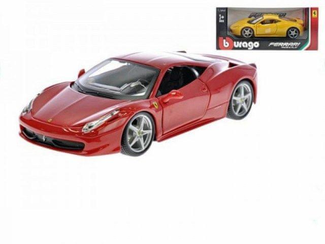 BBurago Auto Bburago 1:24 Ferrari Race & Play 458 Italia