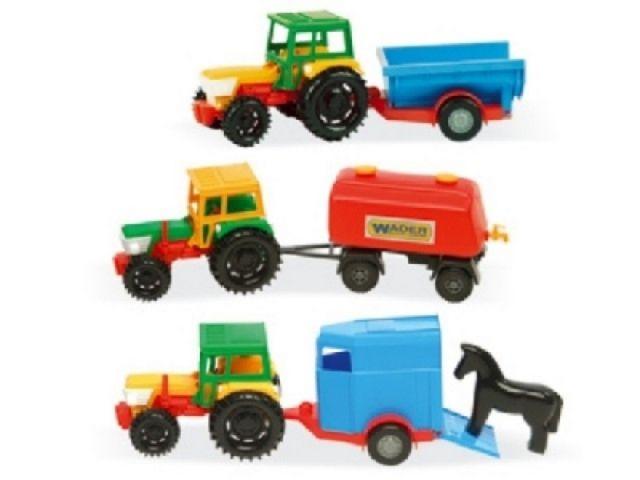 Wader WADER -Traktor s příslušenstvím