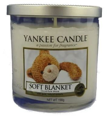 Yankee Candle Soft Blanket Décor malý 198 g