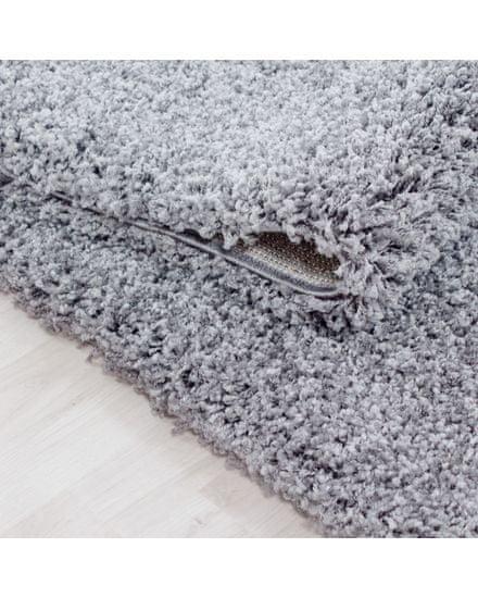 Ayyildiz Kusový koberec Life Shaggy 1500 light grey