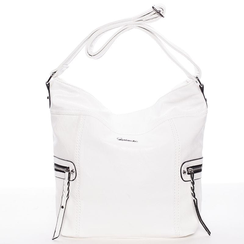 Delami Trendová kabelka přes rameno Delami Kendal, bílá
