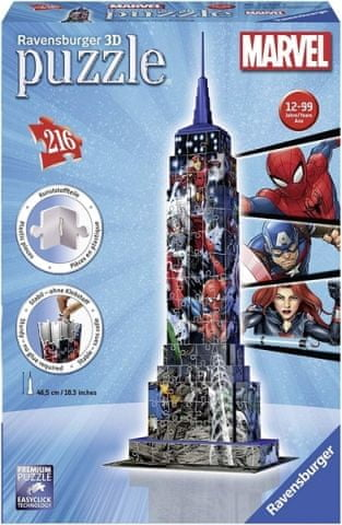 Ravensburger 3D Puzzle Empire State Building Marvel Avengers
