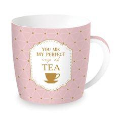 Easy Life porcelánový hrnek My Perfect Cup of Tea 350 ml, dárkové balení