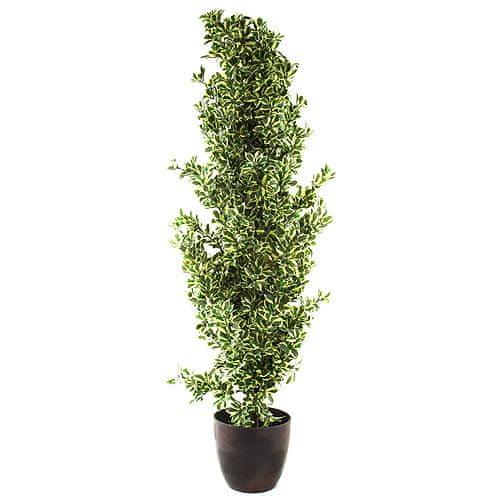 Europalms Forest Ficus, višina 120 cm, srebrna