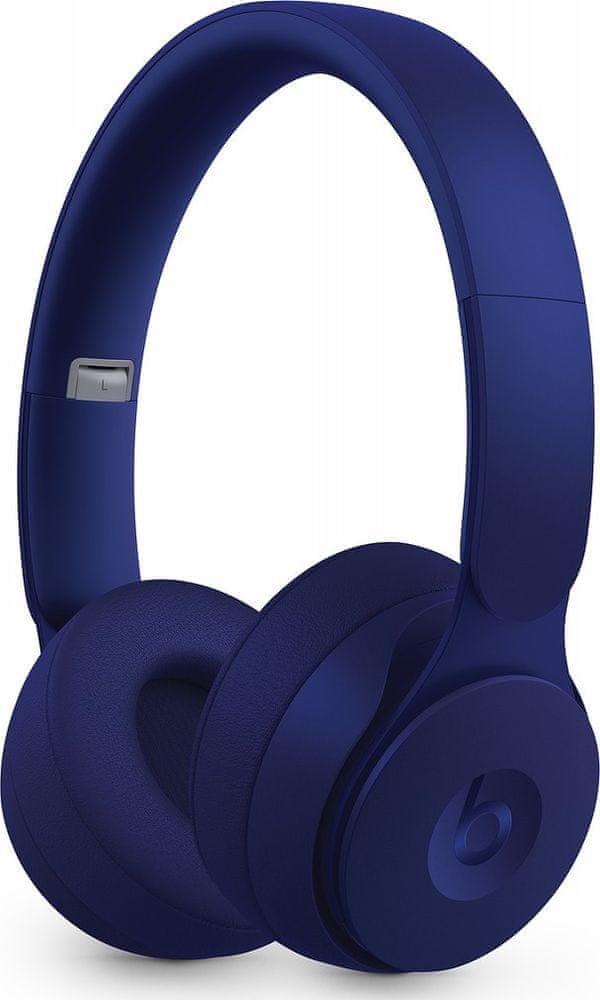 Beats Solo Pro bezdrátová sluchátka, tmavě modrá